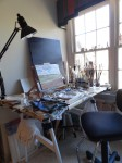 Inside Brett Berlin's Painting Studio