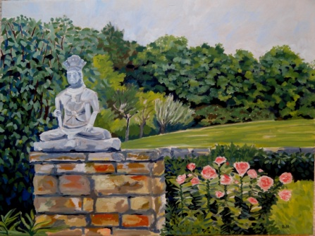 Wisconsin Buddha No. 1. 18x24, Oil on Canvas, 2013